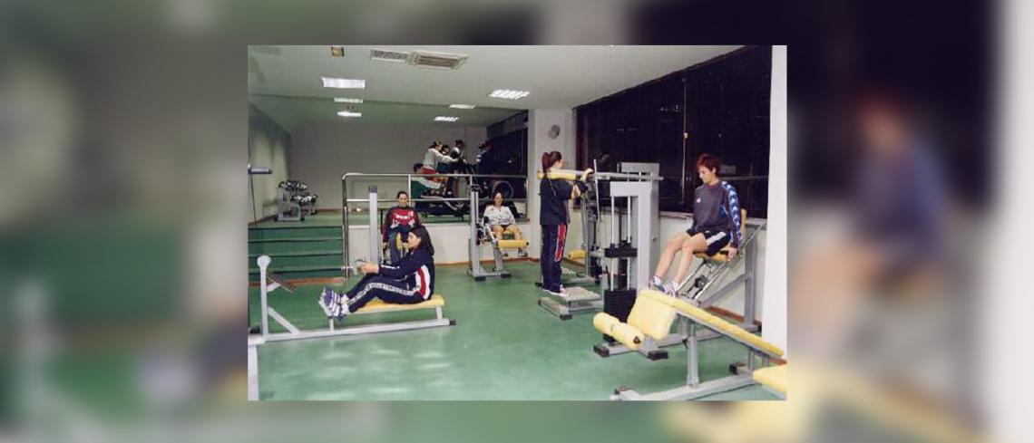 "Fitness room Specialized Centre of High Performance Olympic shooting "" Juan Carlos I "" the Gabias, grenade (Andalucian Marvel)"