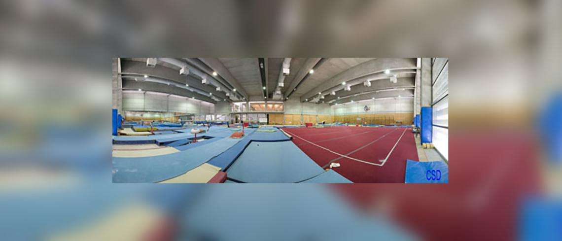 Rhythmic gymnastics room Female High Performance centre of Higher Council of sports, Madrid