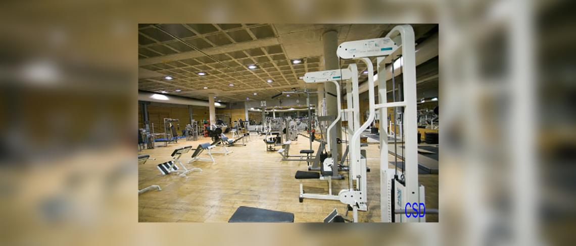 Fitness room center of high performance of the High Council of sports, Madrid