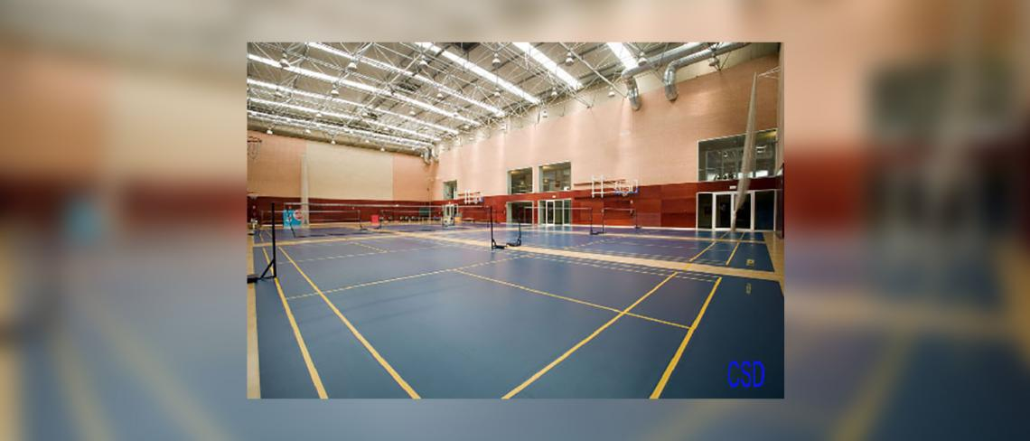 Badminton hall High Performance centre of Higher Council of sports, Madrid