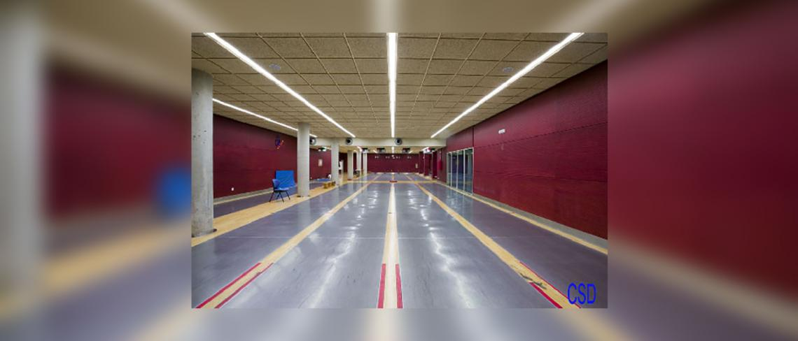 Fencing room High Performance centre of Higher Council of sports, Madrid