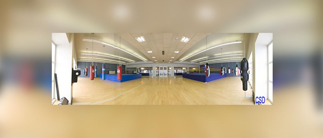Boxing room High Performance centre of Higher Council of sports, Madrid